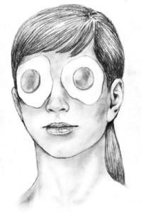 Jesse Prinz doodle face