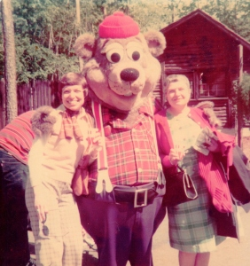 Keith Sawyer performing as Buford Beaver 1977
