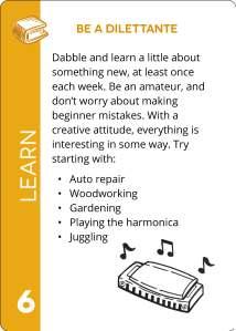 Card LEARN 6